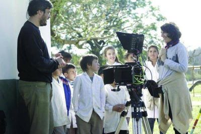 Continua el rodaje de la producción cinematográfica que se esta realizando en Concordia