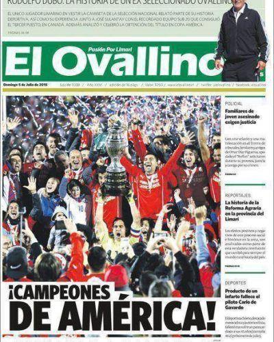 Así vivieron los medios chilenos la consagración de La Roja
