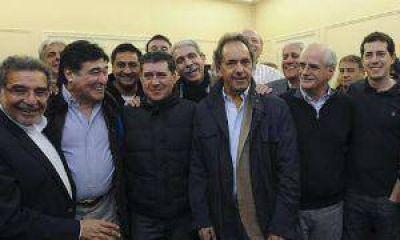 Scioli y Zannini acompañaron el triunfo de Casas en La Rioja