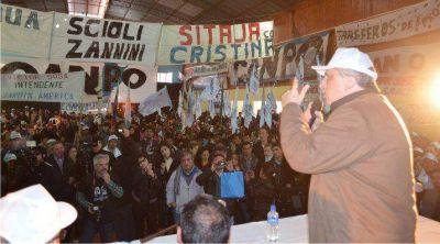 """""""Hay un sector antipopular que quiere volver y arrebatar derechos consagrados"""", dijo Passalacqua"""
