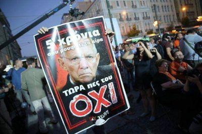 Corralito en Grecia: ganó el
