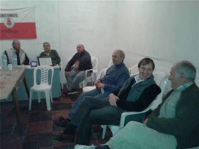 Los concejales radicales visitaron la localidad de Pirovano
