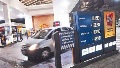 Rigen desde hoy los nuevos precios de combustibles
