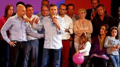 Con su discurso, Macri buscó relanzar su candidatura presidencial