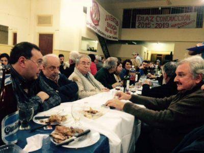 El Sitos realizó una cena en la sede gremial de SUTHERyH