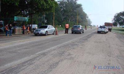 Autovía: iniciaron censos preliminares de volumen de tránsito sobre la Ruta 12