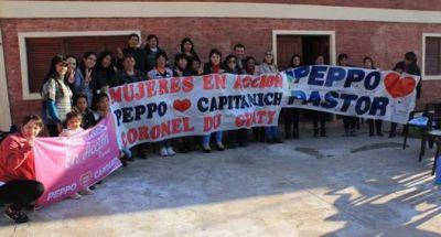 Peppo se reunió con militantes en Du Graty