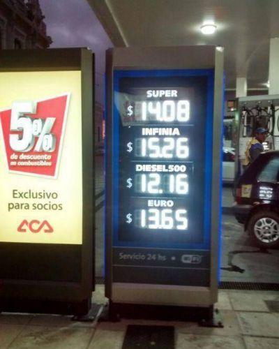 Se actualizaron los precios de los combustibles, y ya se refleja el aumento en estaciones de Corrientes