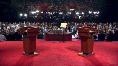 Debates presidenciales: Diputados avanza para que sean obligatorios