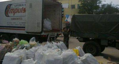 Juntaron 10.000 kilos de papel y miles de tapas para ayudar al Hospital Garrahan