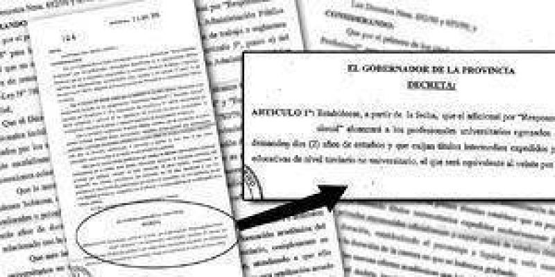 Estatales sufrieron reducción salarial por decreto de Insfrán