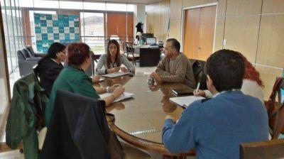La ministra Pannocchia se reunió con APTS