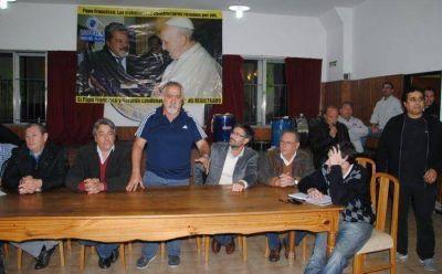 Respaldo de sindicalistas y políticos a a la candidatura de Aníbal Fernández
