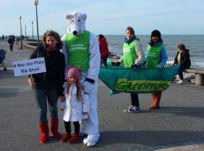 """""""Mar del Plata vs. Shell"""", en rechazo contra perforaciones en el Ártico"""