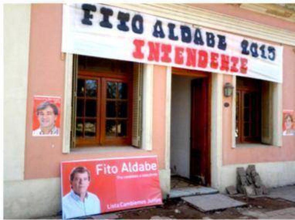 Aldabe inauguró su local para las elecciones