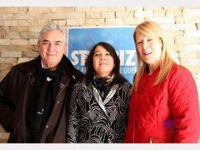 Mariela Tugnarelli recibió el apoyo de Jaime Linares y Margarita Stolbizer