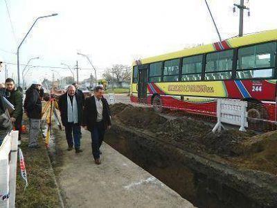 El municipio avanza en la ejecución de Obras Pluviales en el Barrio El Martillo
