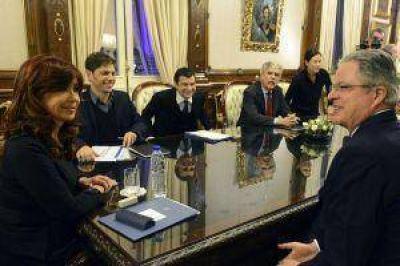 Cristina recibió a directivos de la petrolera Chevron