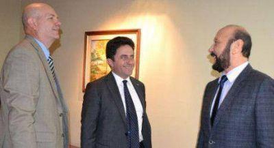 Insfrán recibió al cónsul de Italia en Rosario