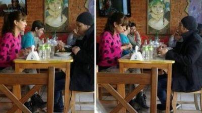 Andrea Estévez blanqueó su relación con Maravilla Martínez
