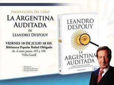 """Leandro Despouy presenta en Gesell """"La Argentina auditada"""""""