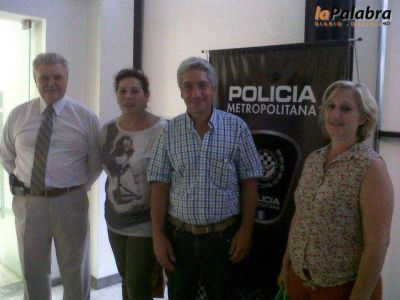 Zara propone la elaboraci�n de un programa de seguridad para Patagones
