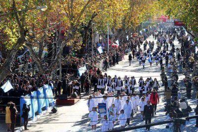 En Villa Mercedes se conmemora el 199° aniversario de la declaración de la Independencia