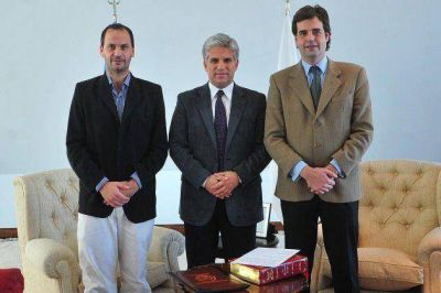 El gobernador Poggi puso en funciones al ministro de Seguridad, Diego Pagella
