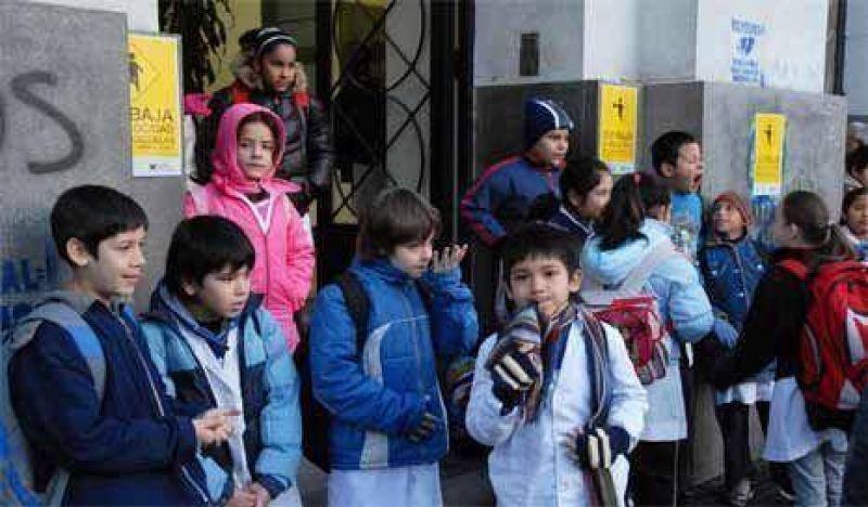 Docentes alertaron sobre falta de material de higiene en escuelas