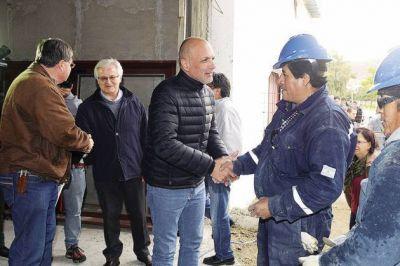 Pueblo por Pueblo: Buzzi recorrió obras que realizan instituciones de Rada Tilly