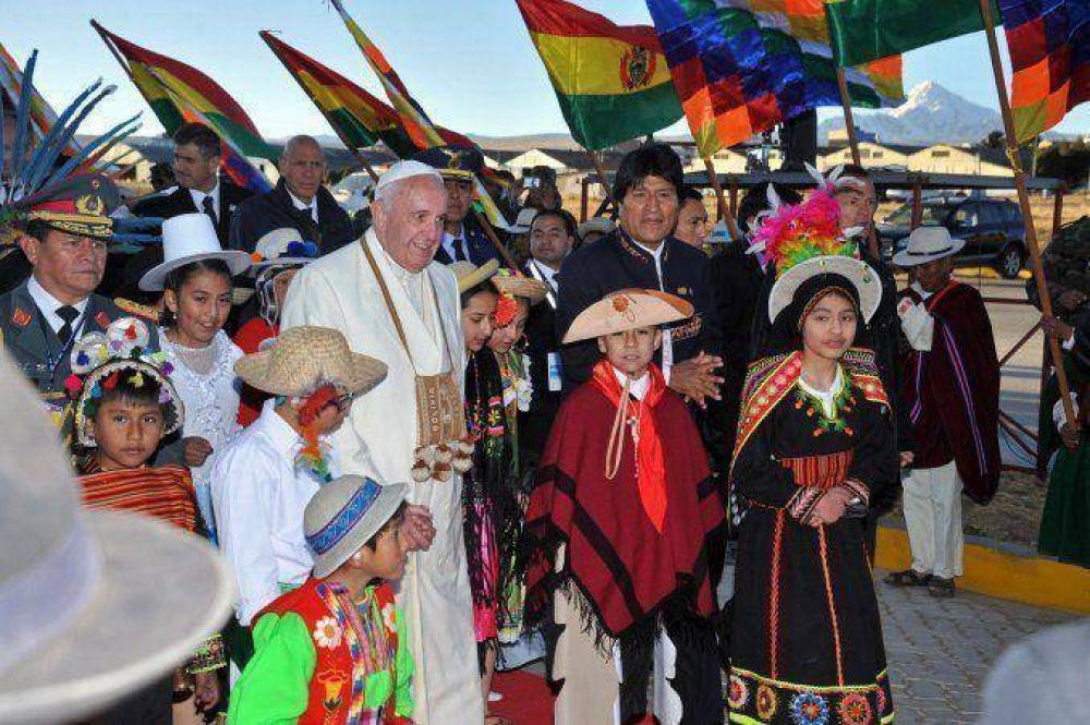Francisco en Bolivia: miles de personas asistirán a la misa en Santa Cruz