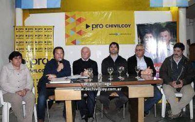 Niembro acompañó la presentación de la lista del PRO en Chivilcoy