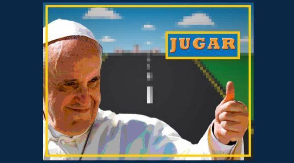 Papa en Paraguay: Lanzan videojuego para manejar el papamóvil