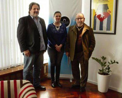 La UNTDF firmó convenio de cooperación con el INCAA