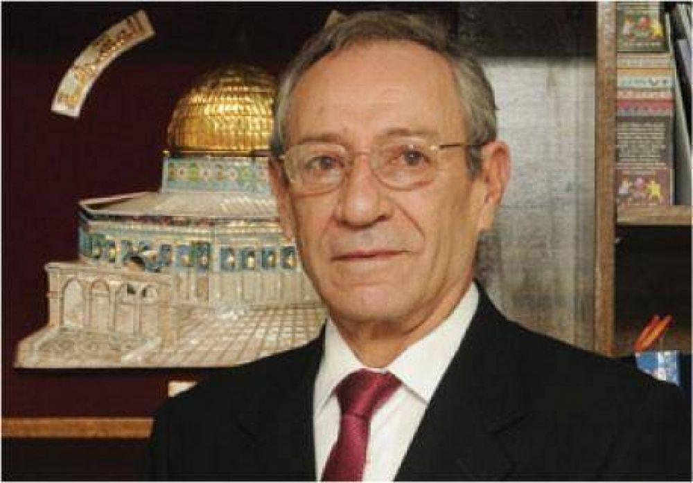 """El embajador palestino en Chile dijo que """"no existe un pueblo judío"""""""