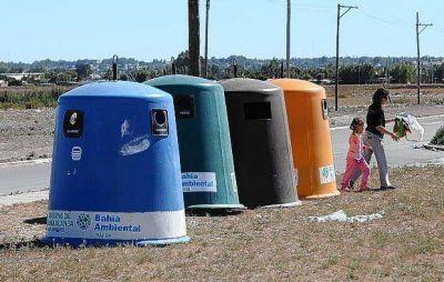 Primer paso de la separaci�n de residuos