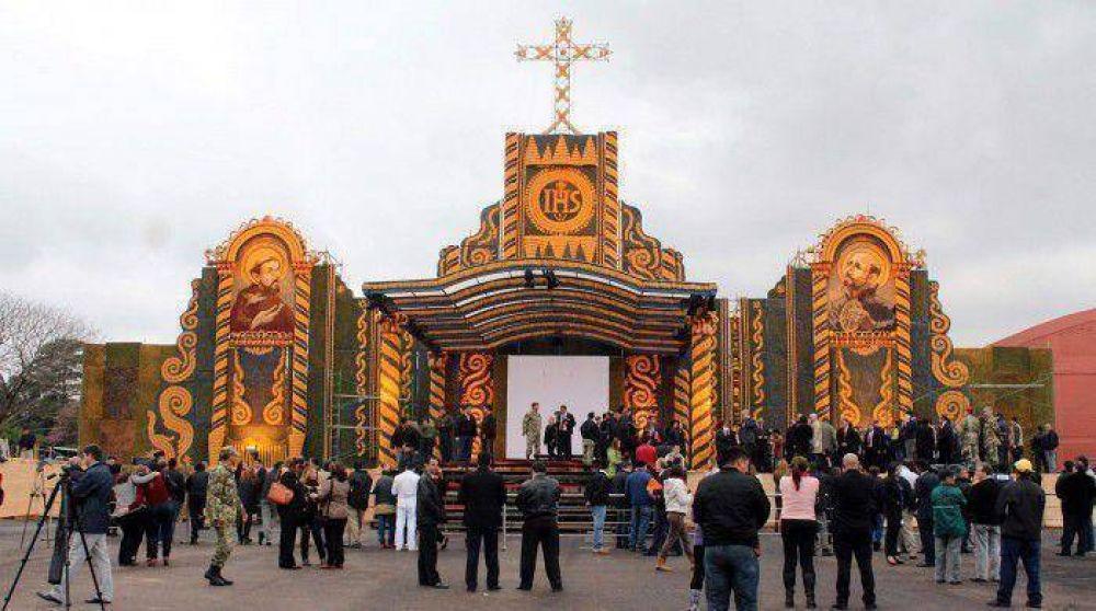 Ayer entregaron el retablo de maíz