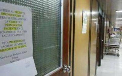 Bahía Blanca: Registraron brote de bronquiolitis