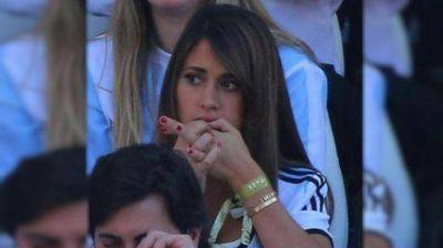 Dieron de alta a la mujer de Messi