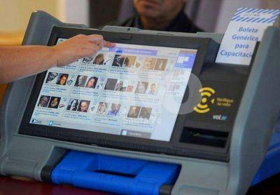 El vicegobernador puso reparos al sistema de voto electr�nico