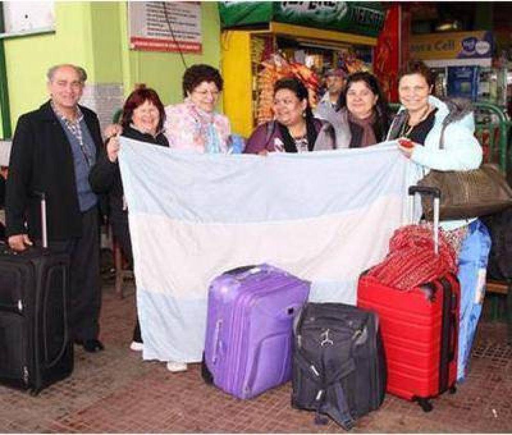 Cientos de correntinos se suman al millón de argentinos que viajan para ver a Francisco