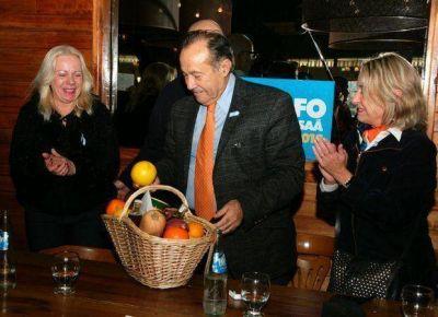 Intensa actividad de Adolfo en la provincia de Buenos Aires
