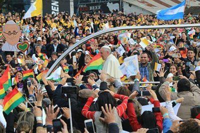 Jujeños presente en misa del Papa