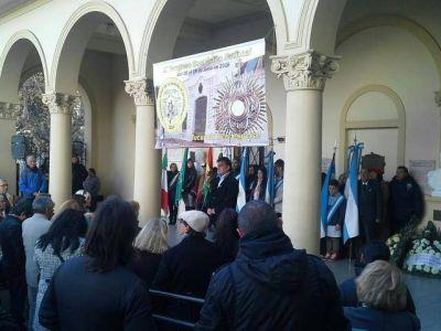 Gutiérrez encabezó acto en homenaje a Manuel Belgrano