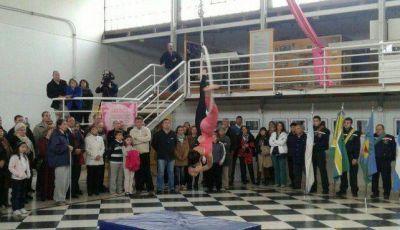 Entre baile y acrobacias, festejaron el 9 de Julio en el Museo Mulazzi