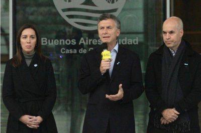 """Macri dice que Lousteau """"le busca el pelo al huevo"""" y habló de reformar la Constitución porteña"""