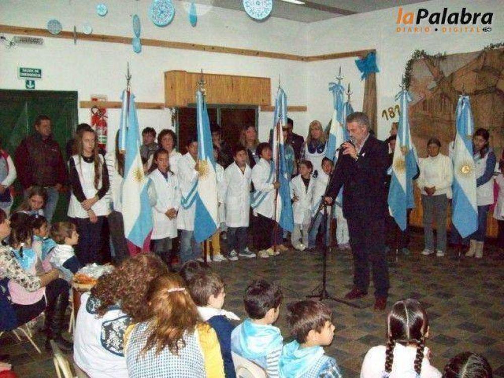 Se realizó el acto oficial del Día de la Independencia en la localidad de Pradere