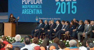 Urtubey participó en Tucumán de los actos por el 199° Aniversario de la Declaración de Independencia