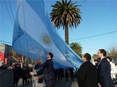 Bolívar celebró el 9 de Julio, a 199 años de la declaración de la Independencia argentina