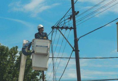 EDES anunció cortes de servicio en la ciudad y la zona